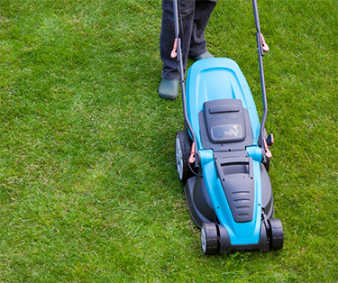 Electric lawn mower | Save Tarrant Water